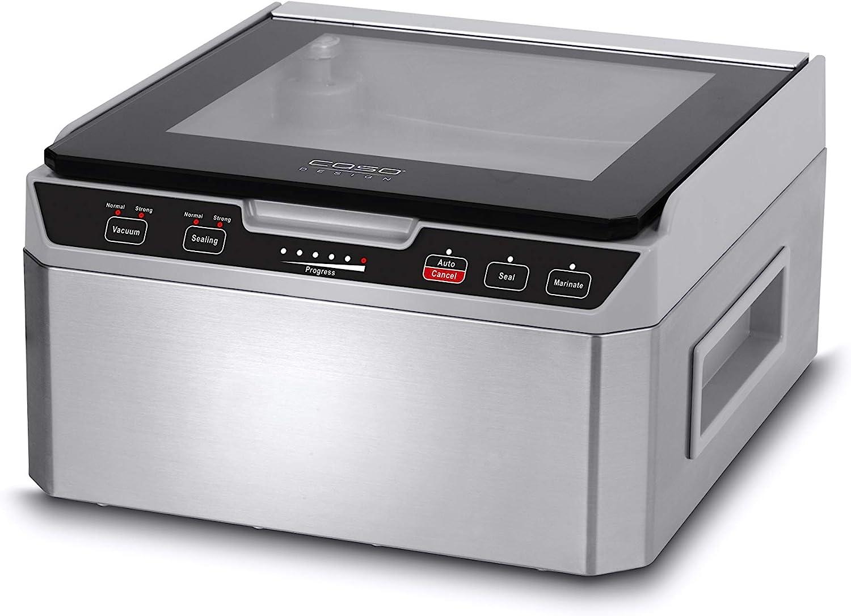 Caso VacuChef 40 1417 - Macchina per sottovuoto in acciaio INOX