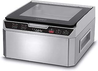 Caso VacuChef 40 1417 Appareil de mise sous vide en acier inoxydable 3 l avec chambre à vide 70 l/minute, double soudure à...