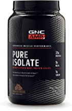 GNC AMP Pure Isolate, Chocolate Frosting, 2.13 lbs, Fuels Athletic Strength and Performance