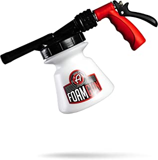 Adam's Standard Foam Gun - Car Wash & Car Cleaning Auto Detailing Tool Supplies   Car Wash Kit Soap Shampoo & Garden Hose for Thick Suds   No Pressure Washer Required   Car Detailing Tool