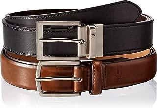 Men's 2 Box Reversible and Brown Casual Belts