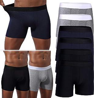 Comsoft Mens Boxer Briefs Soft Cotton Tag-Free Underwear Boxer Briefs