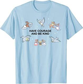 Disney Cinderella Have Courage And Be Kind Quote T-Shirt