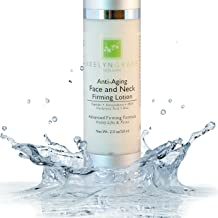 Face & Neck Firming Cream - Anti Aging Lotion Lifts & Firms   Tightens Sagging Skin   Reduces Wrinkles & Fine Lines   Smoothing & Brightening Advanced Treatment with Peptides & Hyaluronic Acid - 2 Oz.