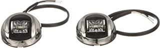 Attwood 3570-7 3500 Series LED Vertical Sidelights, 2-Nautical Mile LED Red & Green Navigation Lights, 2.4 Watts at 12 Volts