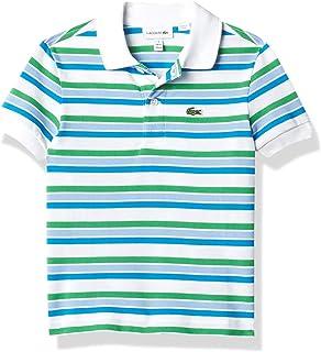 Boys' Short Sleeve Classic Stripes Polo Shirt