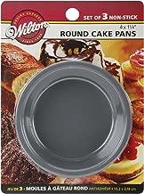 Wilton 2105-1829 Mini Round Pans, STD, Silver