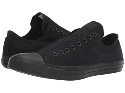 Converse Chuck Taylor All Star Slip-On (Black/Black/Black) Slip on Shoes