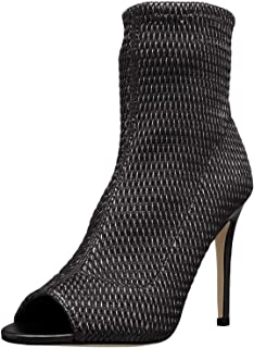 BCBGeneration Women's Jane Quilted Peep Toe Ankle Boot,