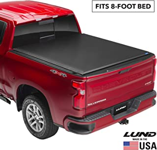 Lund Genesis Roll Up, Soft Roll Up Truck Bed Tonneau Cover | 96052 | Fits 1999 - 2006, 2007 Classic GMC Sierra & Chevrolet...