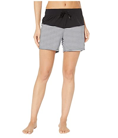Roxy 5 Beach Classics Boardshorts (Anthracite Marina Stripes) Women