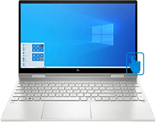 "HP ENVY x360 15t-ed000 Home and Business Laptop (Intel i7-1065G7 8-Core, 8GB RAM, 1TB m.2 SATA SSD, 15.6"" Touch Full HD (1..."