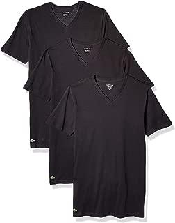 Men's 100% Cotton V-Neck T-Shirt, 3 Pack