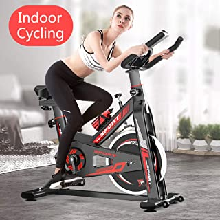 $154 » N/P Exercise Bikes Indoor Sport Bike Stationary Professional Exercise Cycling Bike for Home Cardio Gym Workout