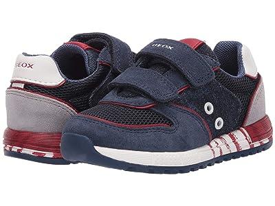 Geox Kids Alben 11 (Toddler) (Dark Blue) Boy
