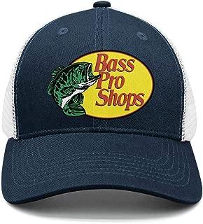 Bass-Pro-Shops-Gone-Fishing-Logo-Classic Adjustable Mesh Unisex Dad Hat Caps