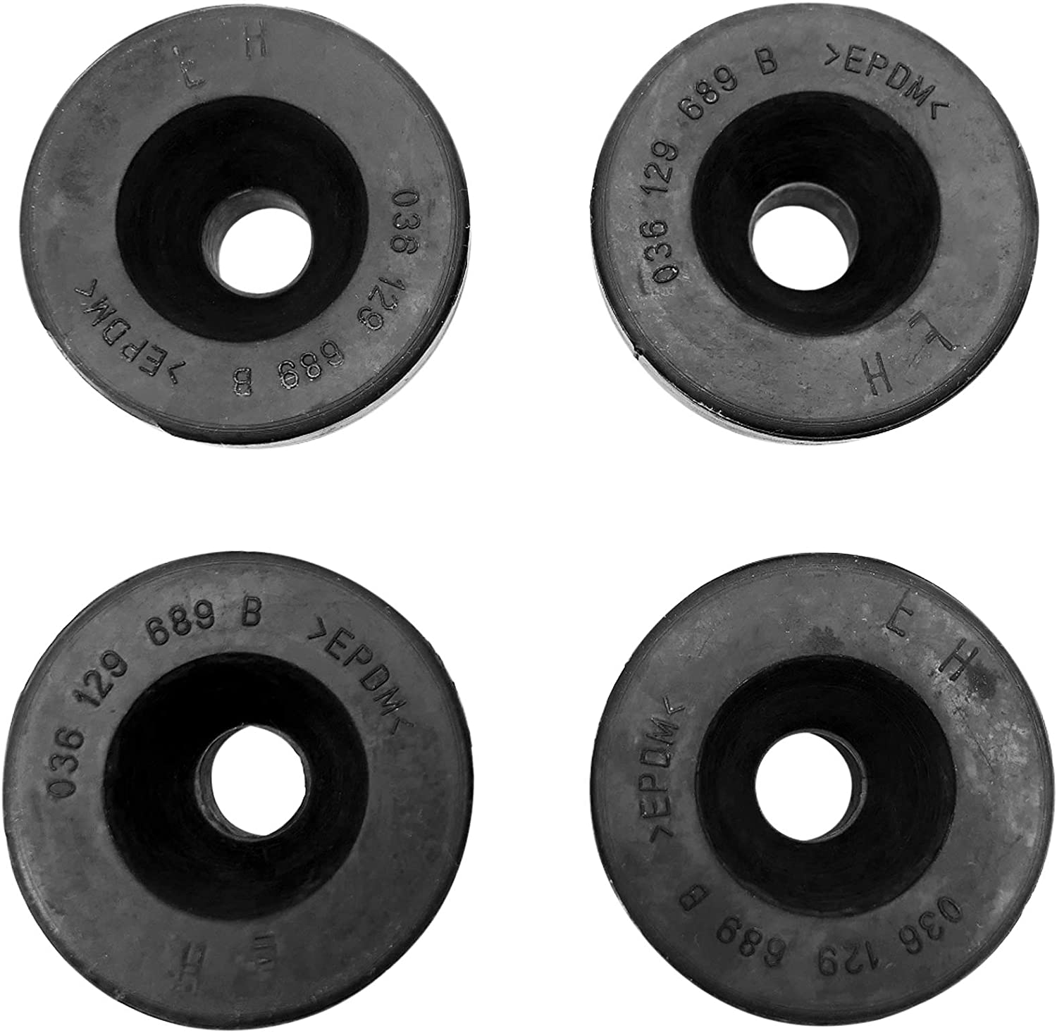 4PCS Air Filter Louisville-Jefferson County Mall Buffer Rubber Ranking TOP9 Engine Mount Fits for Cover Volksw