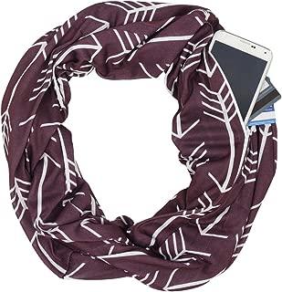 Best vinyasa scarf with zipper Reviews