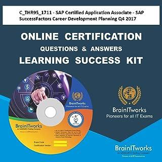 C_THR95_1711 - SAP Certified Application Associate - SAP SuccessFactors Career Development Planning Q4/2017 Online Certifi...