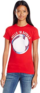 Fifth Sun Juniors Big Hero 6 Baymax Hello Graphic Tee