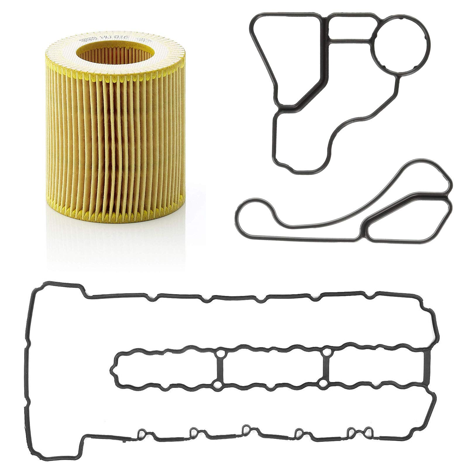 """M12 1//2/"""" Metal Rubber Oil Drain Plug Gasket Aftermarket Replacement fits 097-021 65274 GM 14079550 Buy Auto Supply # BAS03500 24571185 24.7mm O.D // 11.5mm I.D 25 Count"""