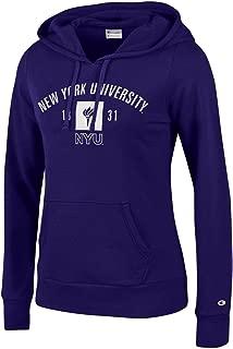 Bag2School New York University NYU Violets Champion Women Hooded Sweatshirt Hoodie