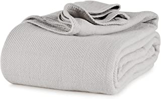 Berkshire AllSoft Cotton Blanket (King, Grey)