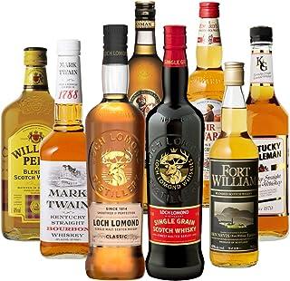 ロッホローモンド オフィシャルボトル入り! ウイスキー エキスパート 厳選 8本セット スコッチ バーボン ブレンデッド 詰め合わせ 飲み比べ
