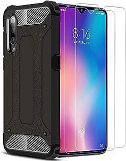 XIFAN Funda para Xiaomi Mi 9, Protección contra Golpes de TPU + PC Resistente a arañazos Doble Capa Funda Carcasa para Xia...