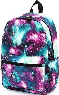 GLJ Waterproof and Wearable Student Bag Computer Bag Travel Bag Backpack (Color : Green)