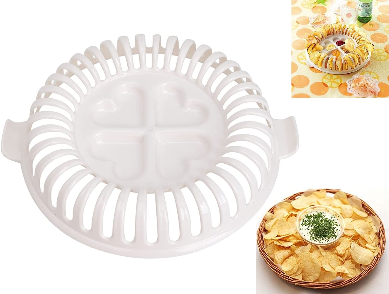 Sumchimamzuk Microondas Patatas de Chips de Maker