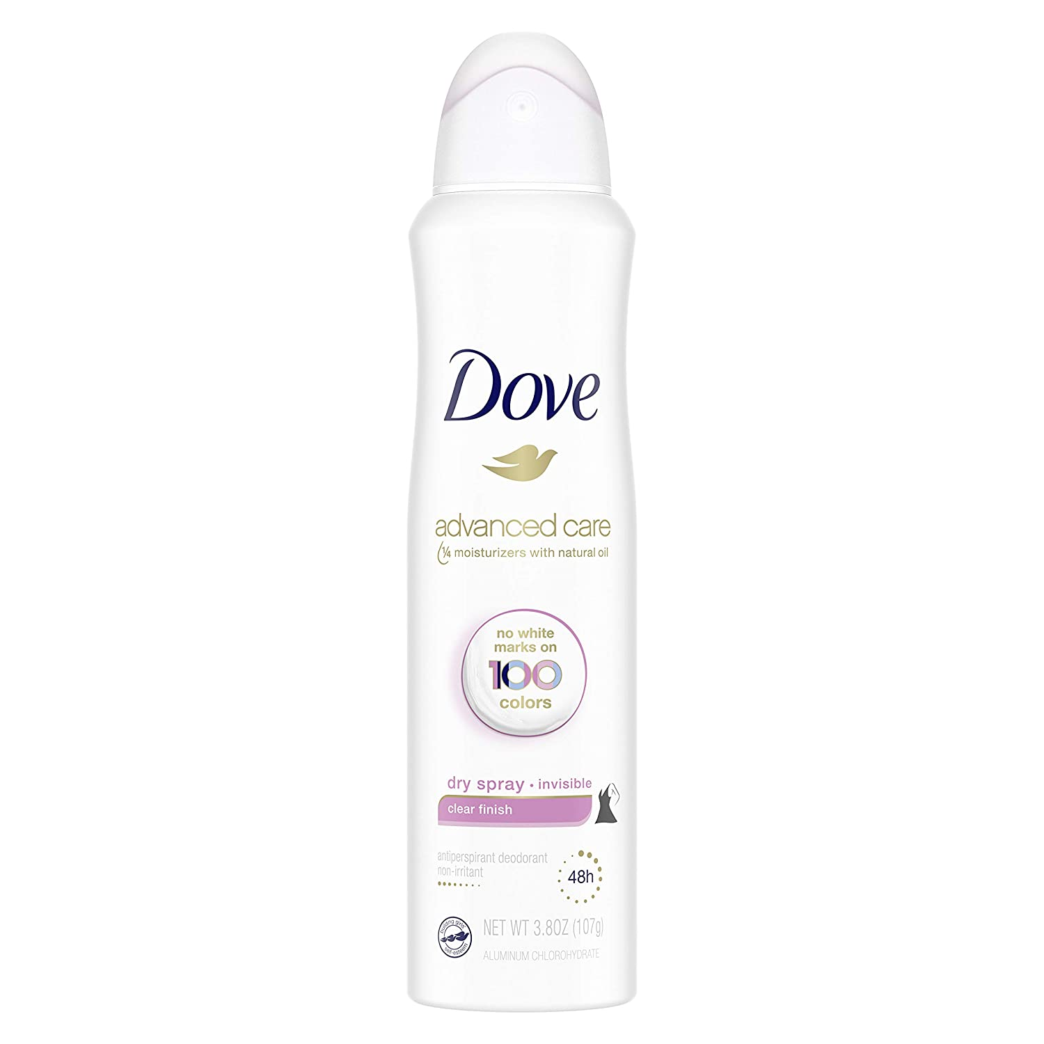 Dove Advanced Care Invisible Year-end annual account Dry discount Spray Antiperspirant Deodorant