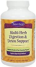 Multi Herb Digestion & Detox Support by Nature's Secret | 275 Tablets