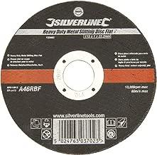 Silverline Heavy Duty Metal Slitting Disc Flat 115 x 1 22.2mm