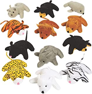 Fun Express 25pc Mini Zoo Plush Animal Set - Toys - Plush - Stuffed Zoo & Safari - 25 Pieces