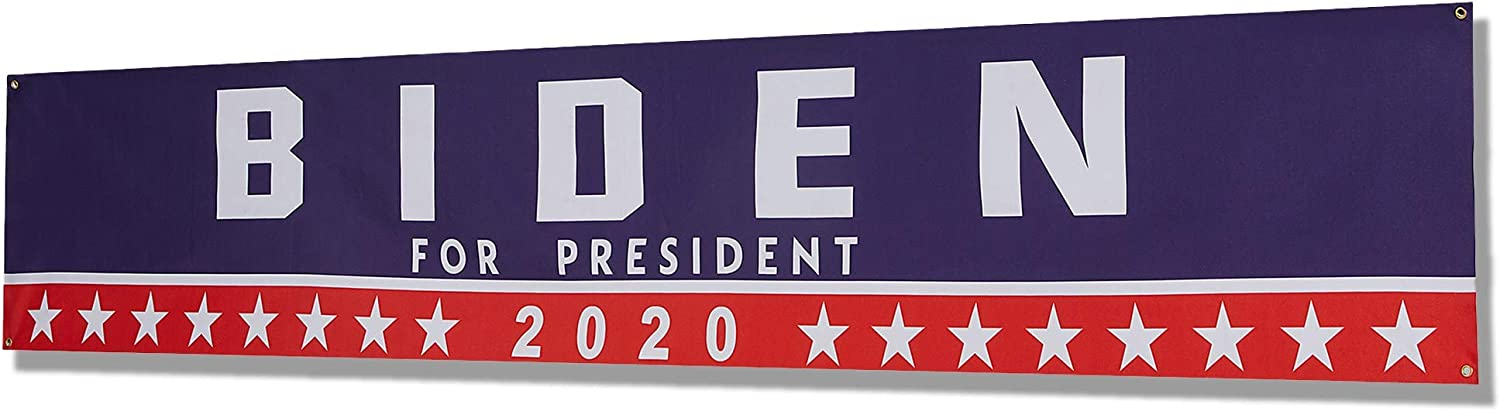 4 All items in the store Pc Biden 2020 for President Large-scale sale Outdoor 20 Flag Ft L 9.6 Inch x