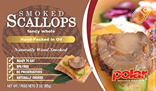 Best canned smoked scallops Reviews