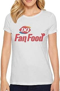 Sports Women Music Fans Fashion Cotton Dairy-Queen-Logo- Short Sleeve T-Shirt