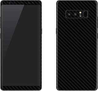 Stylizedd Samsung Galaxy Note 8 Skin Ultra Premium Vinyl Skin Decal Body Wrap - Carbon Fibre Black