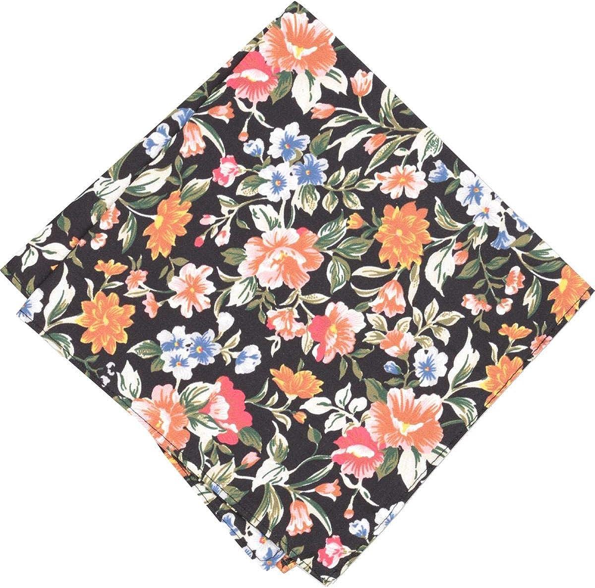 Bar Iii Mens Lassen Floral Pocket Square