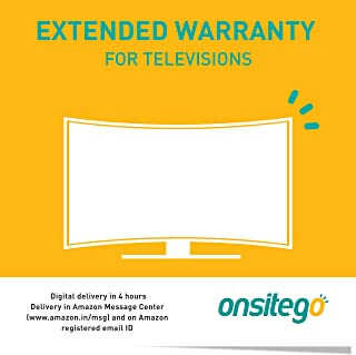 Onsitego 3 Years Extended Warranty for TVs Between Rs. 32001 to Rs. 55000 for B2B (Email Delivery in 2 Hours)