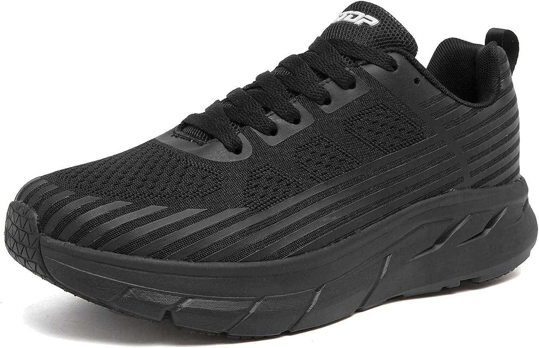 Zapatos para Correr Hombre Mujer Zapatillas de Deportes Tenis Deportivas Running Calzado Carretera Trekking Sneakers Gimnasio Transpirables Casual Montaña 37-46 EU