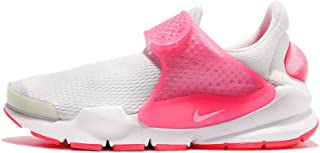 NIKE Kid's Sock Dart GS, Pure Platinum/White-Racer Pink, Youth Size 5