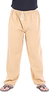 Mens Elastic Waist Casual Lounge Pajama Jogger Yoga Pants Cotton