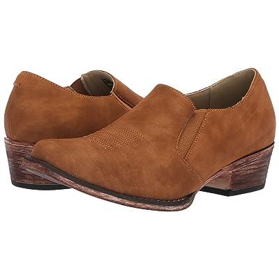 Roper Birkita Classic (Vintage Tan Faux Leather) Women