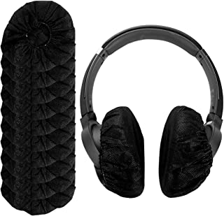 LinkIdea Disposable Non-Woven Fabrics Headphone Earpads Cover, Ear Cushion Covers, Sanitary Super Stretch Headphones Cover...