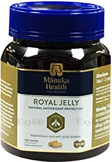 Manuka Health 10hda Royal Jelly 1000mg 180 & 365 Capsules 100% Pure Royal Jelly Immune System Booster & Supports Skin Heal...