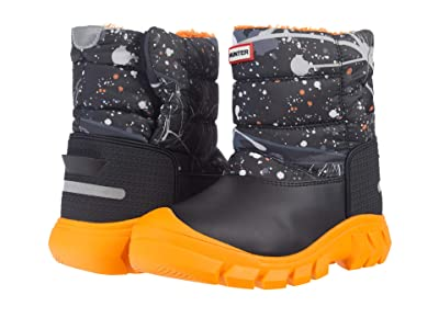 Hunter Kids Original Snow Boots (Little Kid/Big Kid) (Molecular Splash Hunter Black) Kid