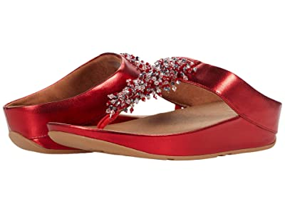 FitFlop Rumba Beaded (Red) Women
