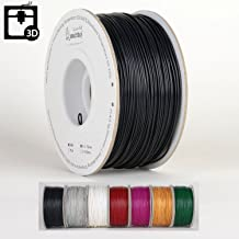 Smartbuy 1.75mm Black ABS 3D Printer Filament - 1kg Spool/Roll (2.2 lbs) - Dimensional Accuracy +/- 0.05mm